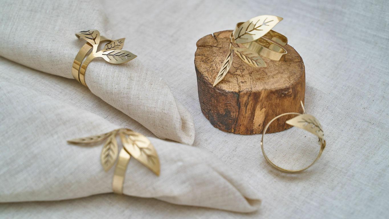 "Napkin ring ""Tea Leaf"""