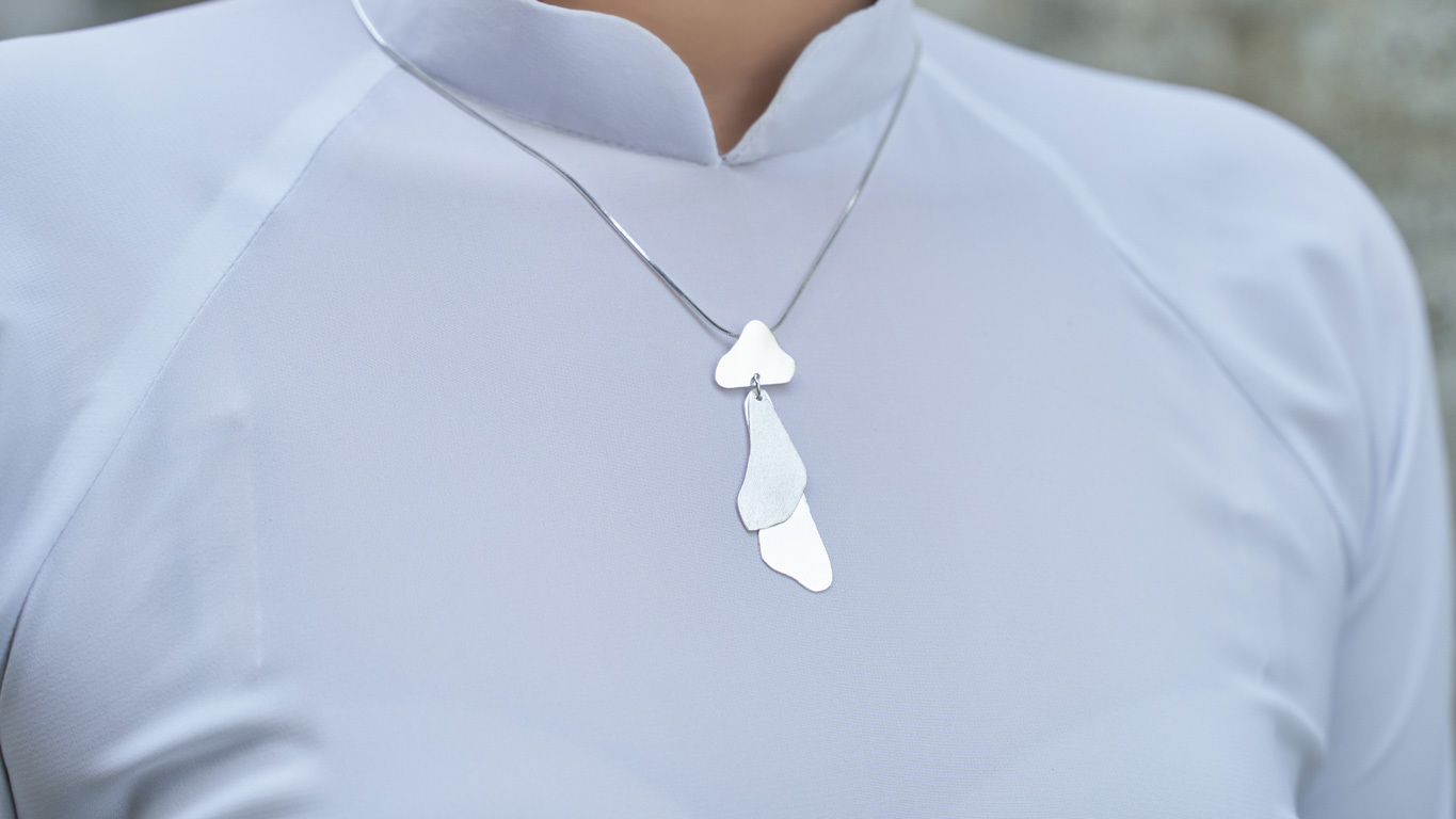 """Pendant """"Flowing Curves"""" RO129TS"""