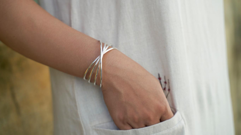 """Bracelet """"Silver Wave"""" RO171TS"""