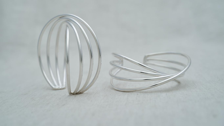 """Bracelet """"Silver Wave"""""""