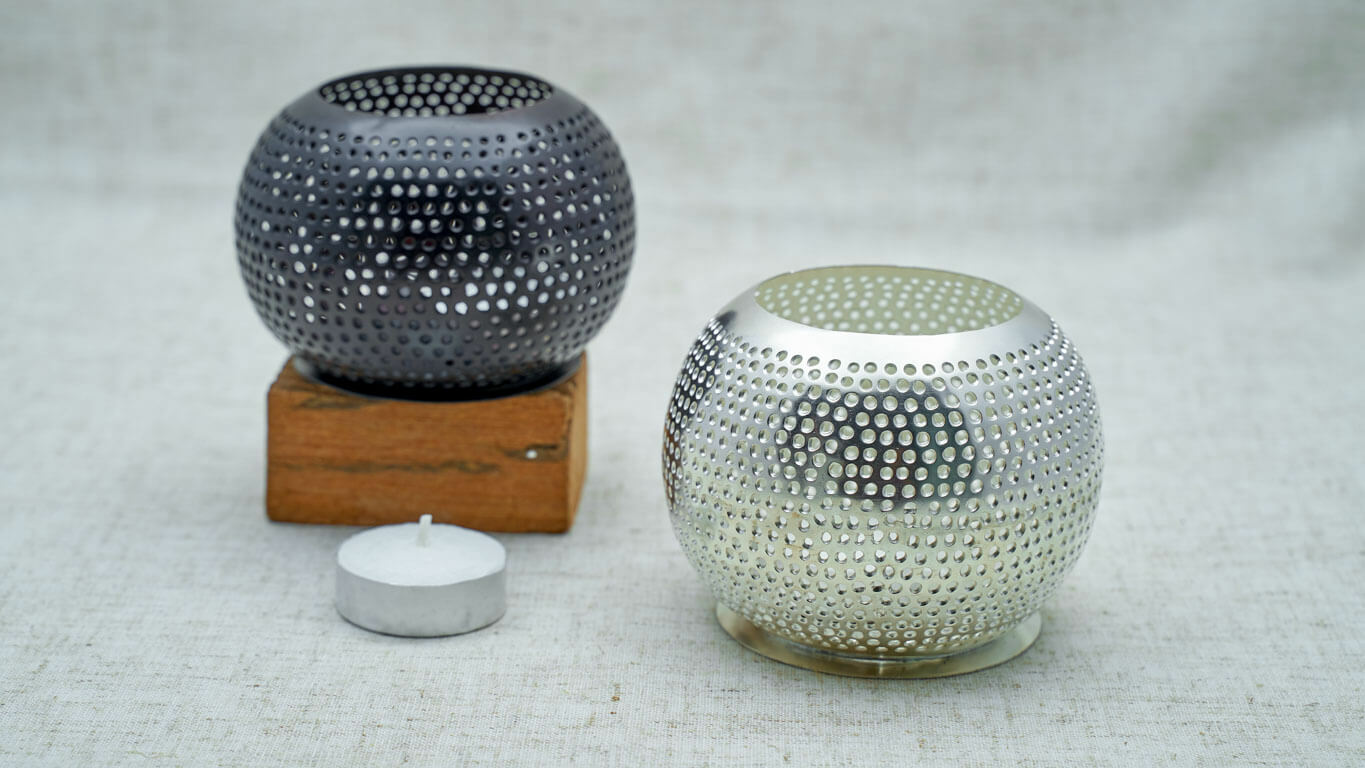 "Candle holder ""Sphere"" HP4TS"