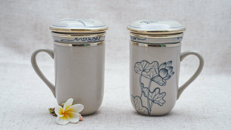 Ceramic tea filter
