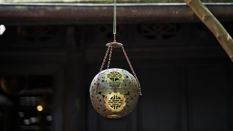 "Metal Lantern ""Longevity"""