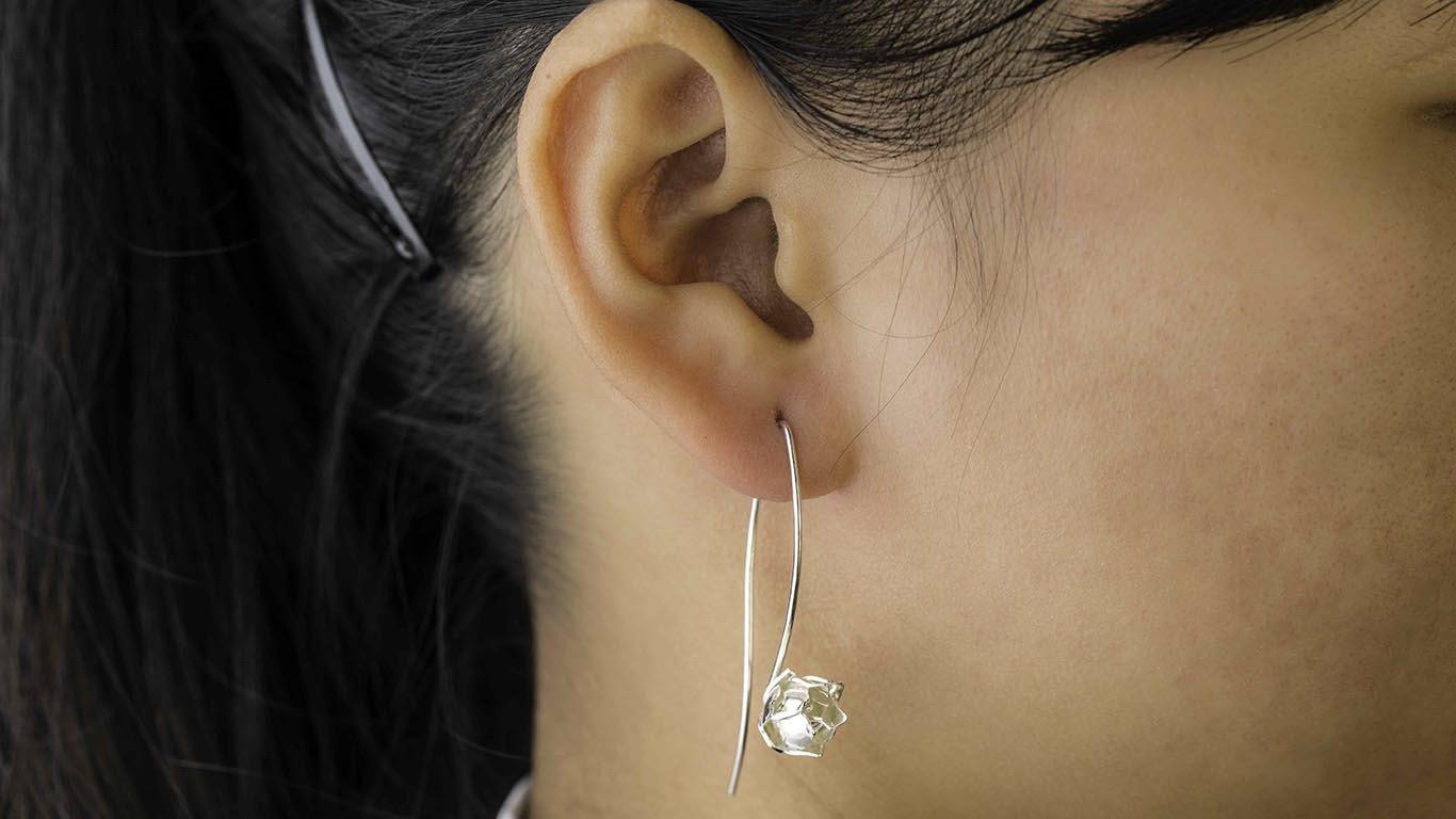 Charming lotuses earrings 1
