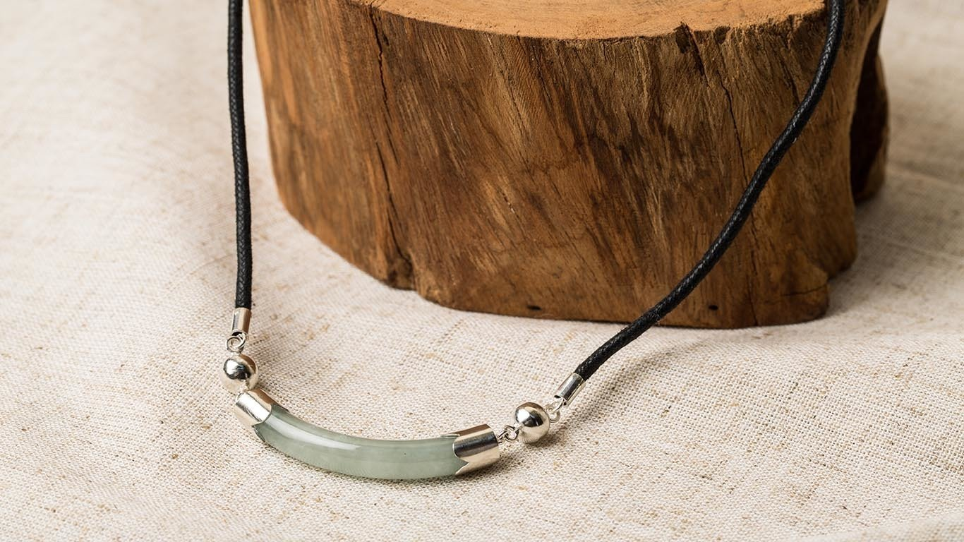 """Necklace """"Jade"""" RO87TS"""