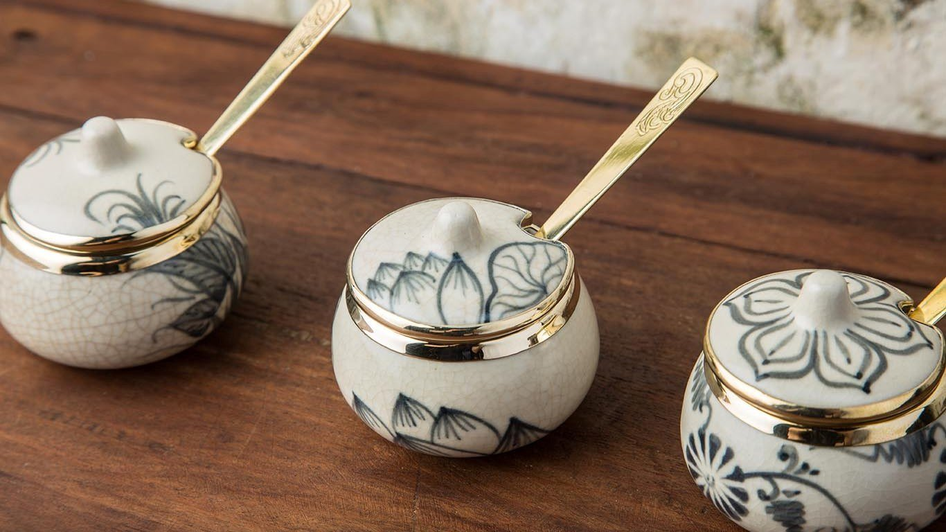Asian Milk - Sugar Bowl Set 1