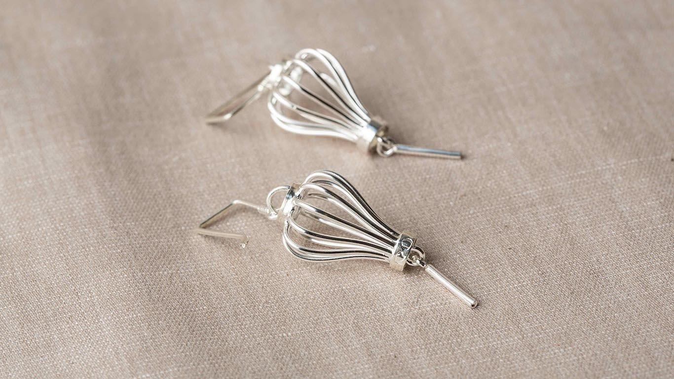 """Earrings """"Lantern"""" RO7TS"""