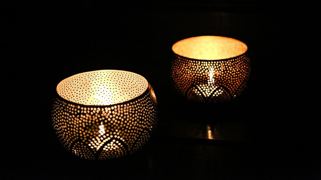 "Candle holder ""Lotus"""