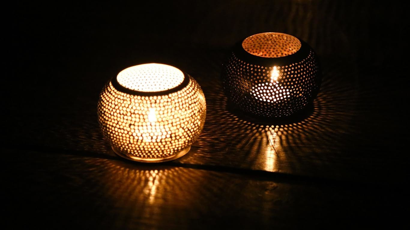 "Candle holder ""Sphere"""