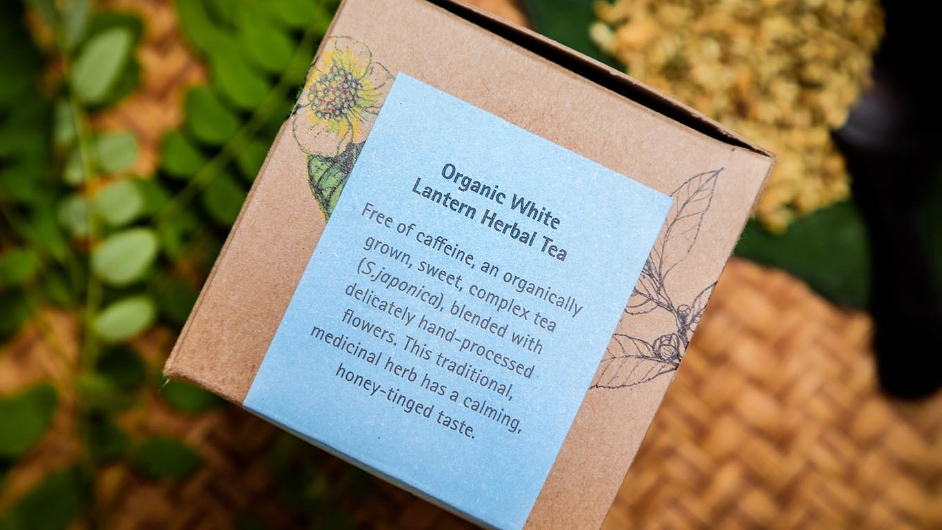Organic White Lantern herbal tea