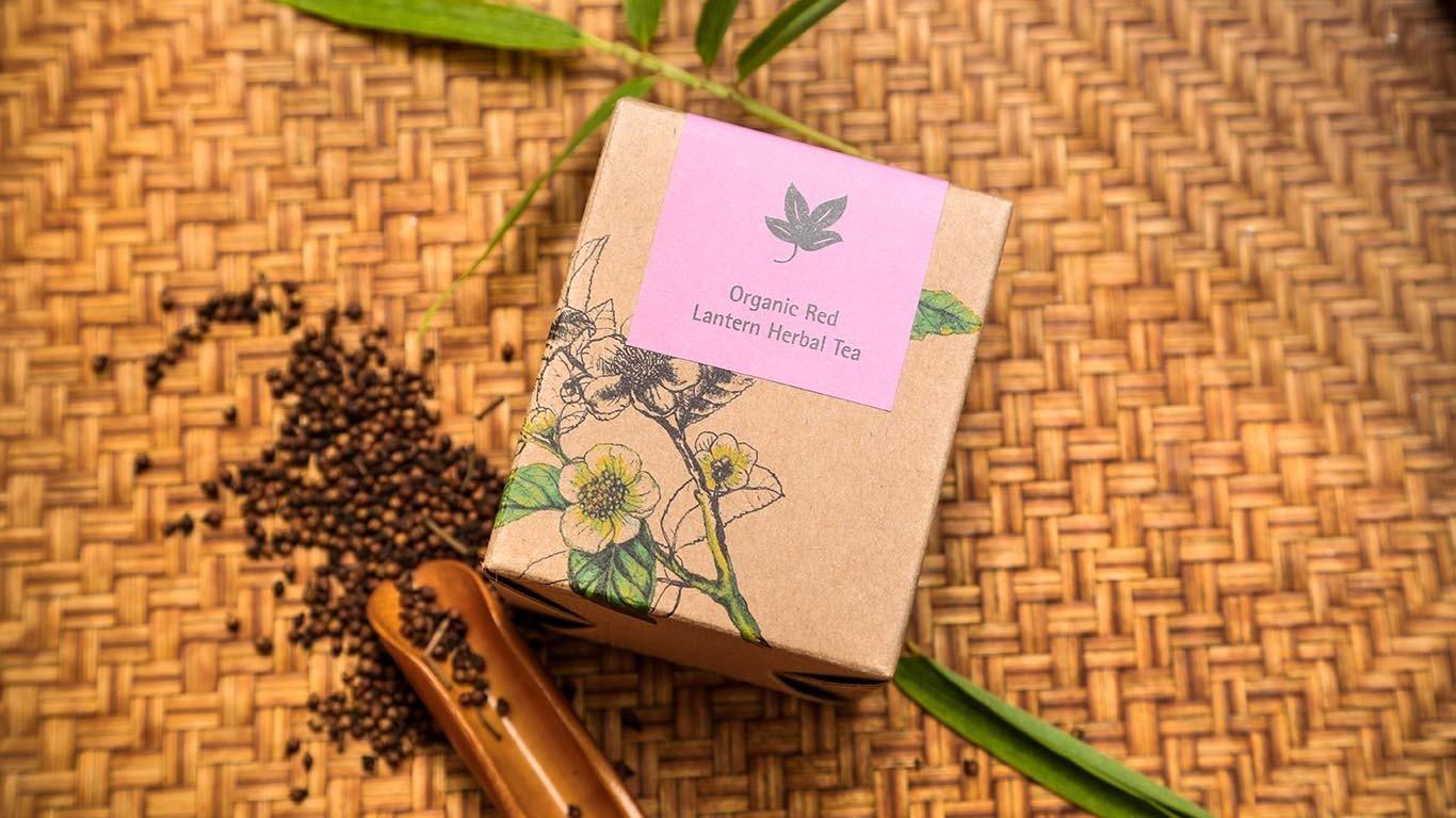 Organic Red Lantern Herbal Tea TQ100HT