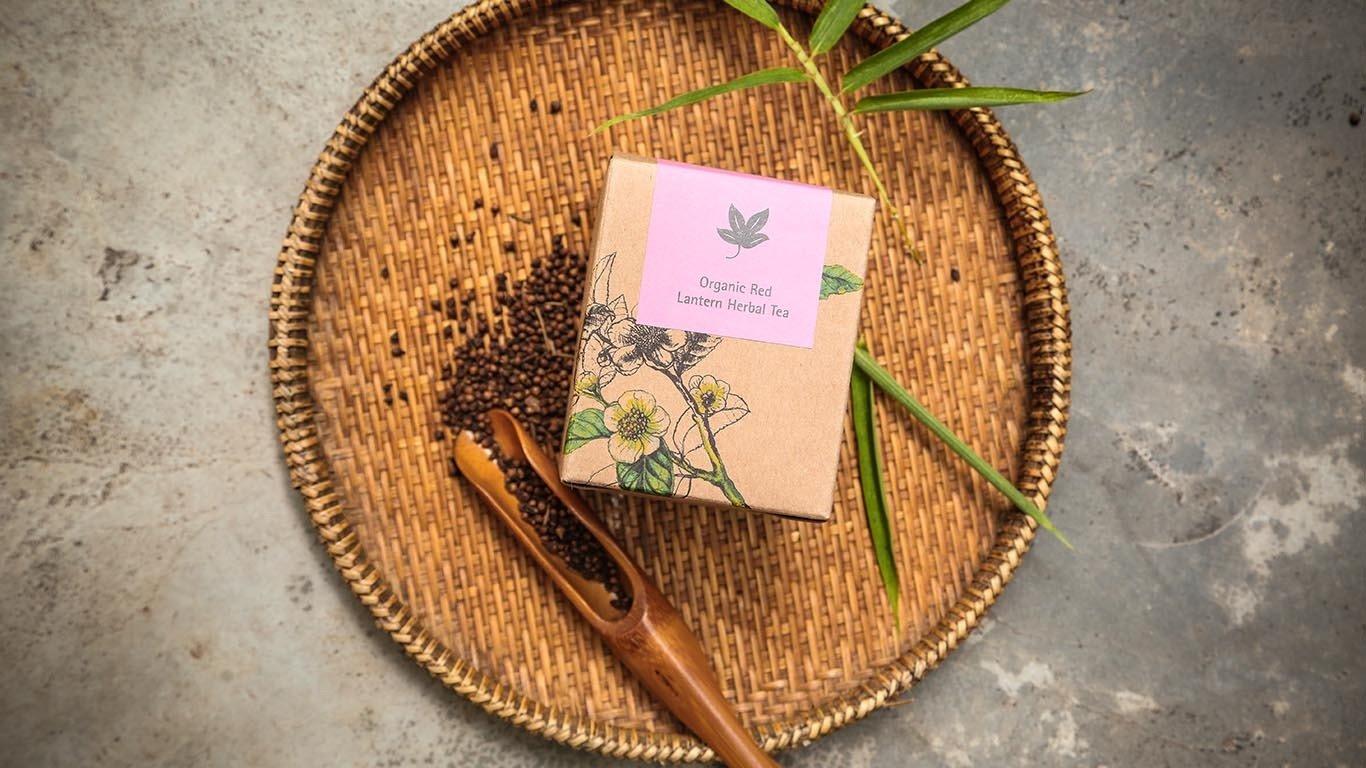 Organic Red Lantern Herbal Tea