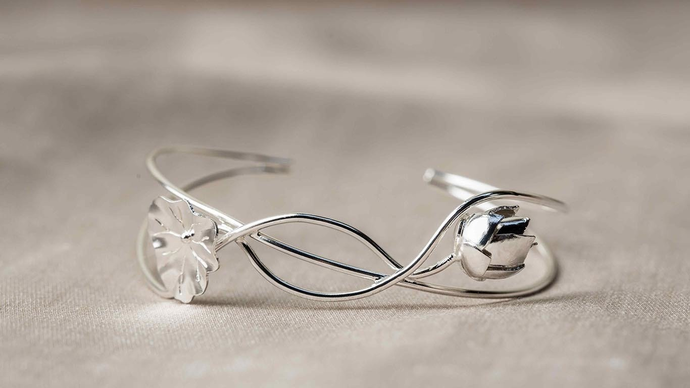 """Bracelet """"Lotus Flower"""" RO64TS"""