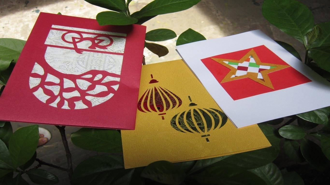 Creative crafting with Binh