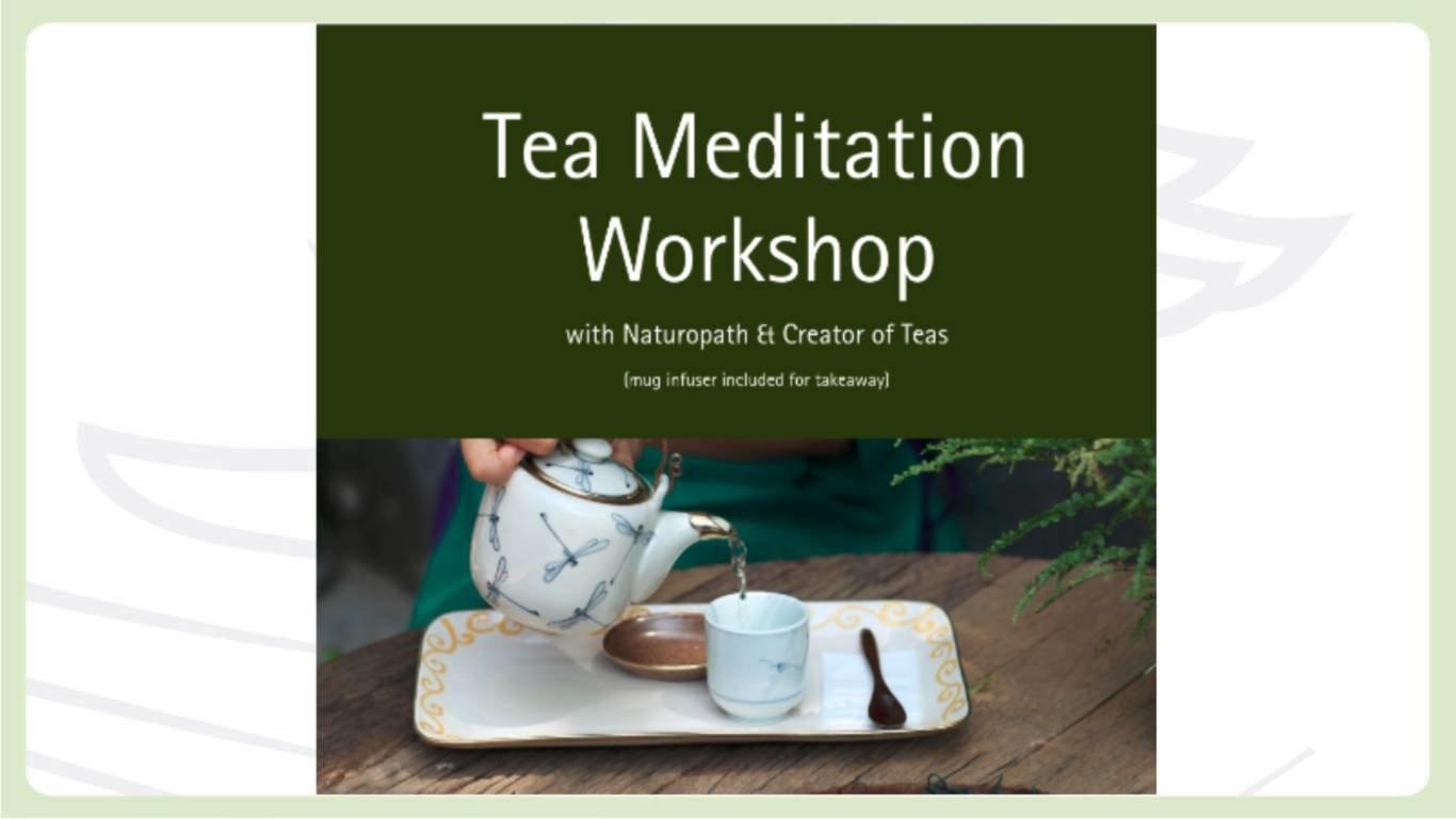 Tea Meditation Workshop for an individual 12542