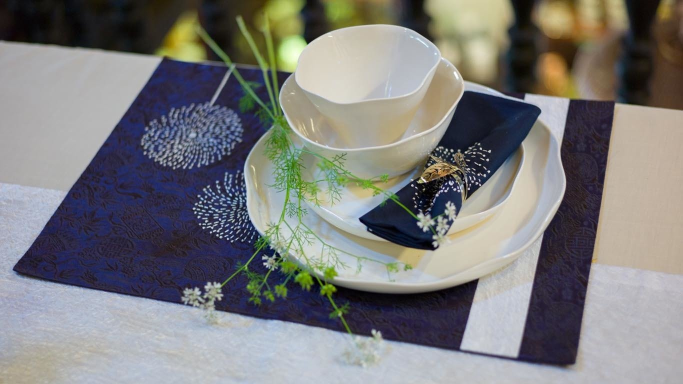 Rustic Leaves Napkin Ring
