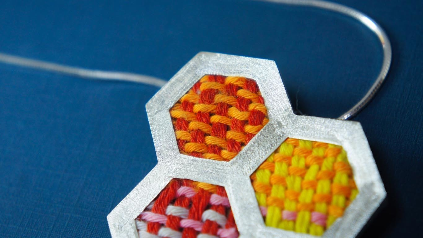 """Pendant """"Honeycomb"""""""