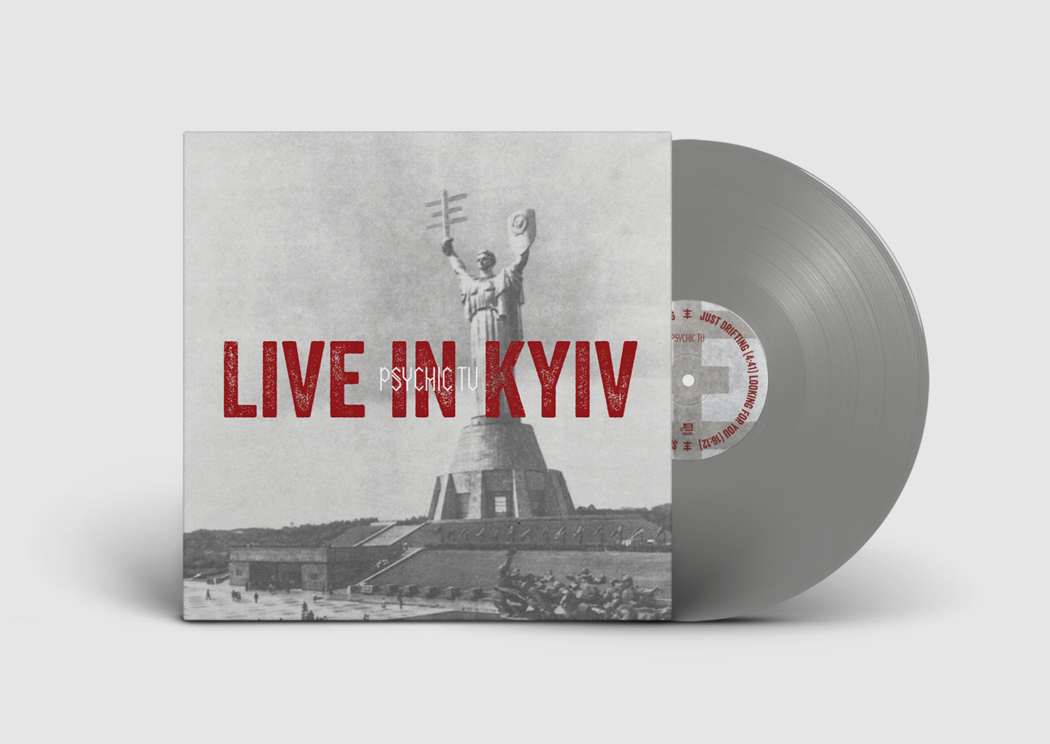 PSYCHIC TV - Live In Kyiv (grey vinyl)