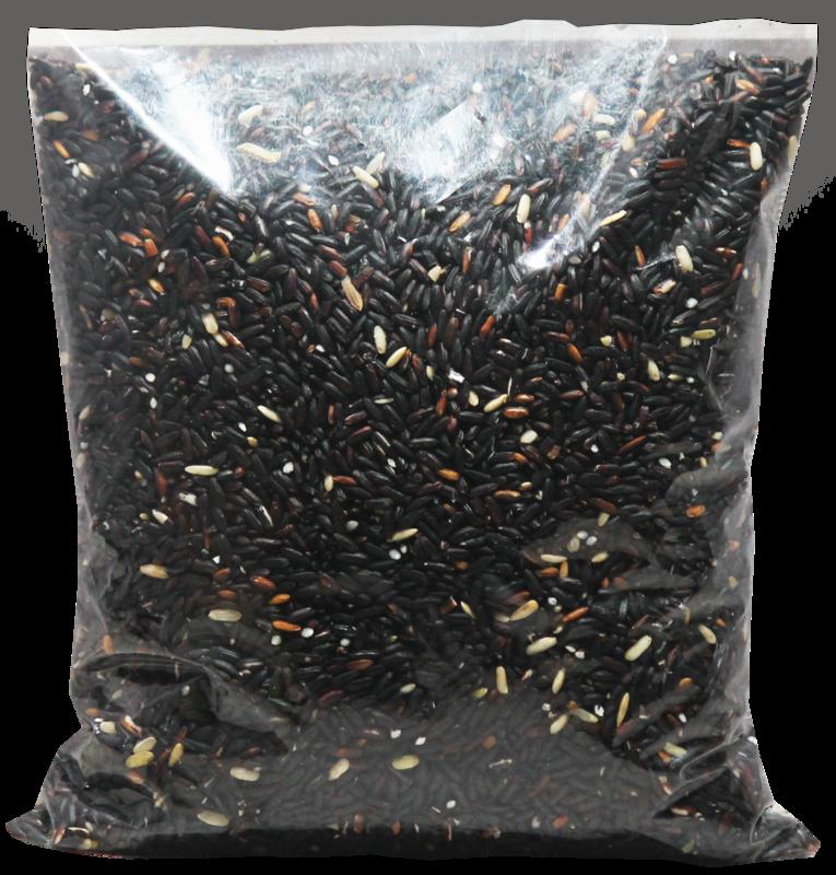 Poireiton Black Rice (  Un-Polished )