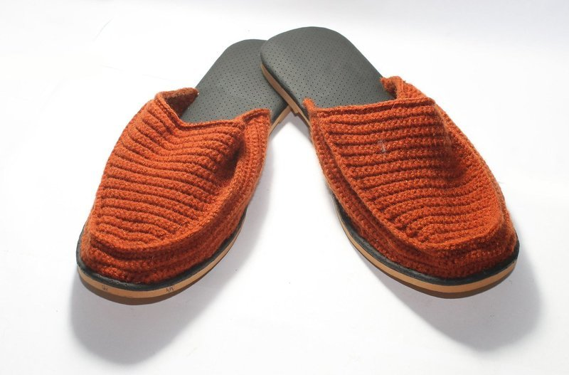Gent Covered Sandle - Hand Knitted