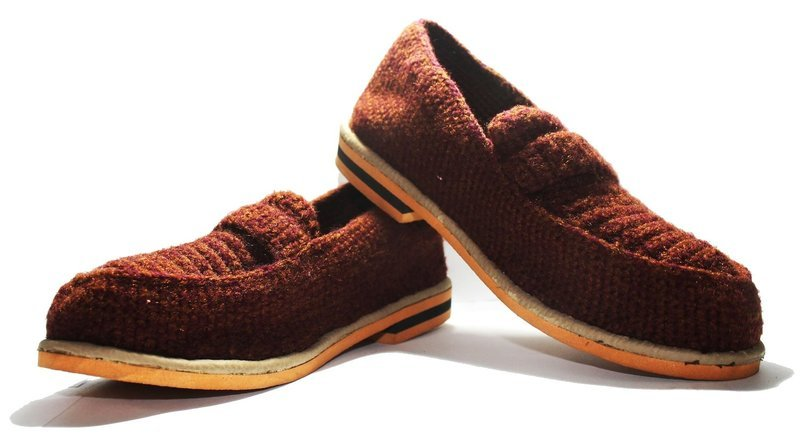 Gent Loafer Shoes - Hand Knitted