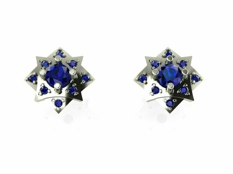 Stud Earrings/ Серьги Пусеты
