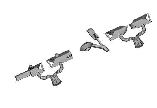 Lock for bracelet/Замок для браслета
