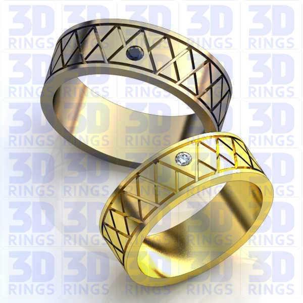 Обручальные кольца 657
