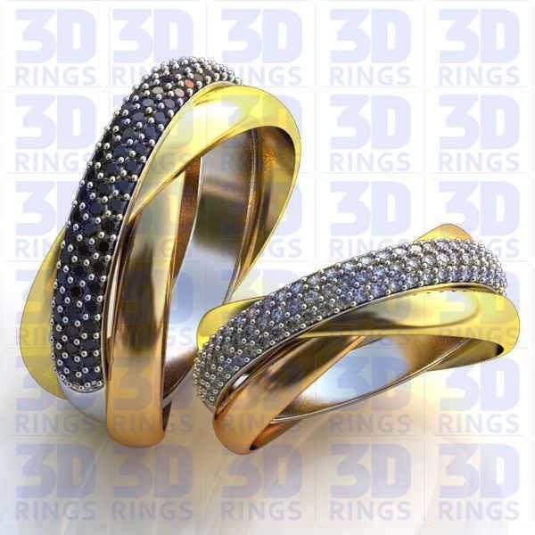 Обручальные кольца 659