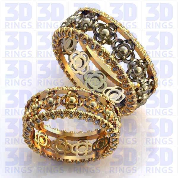 Обручальные кольца 661