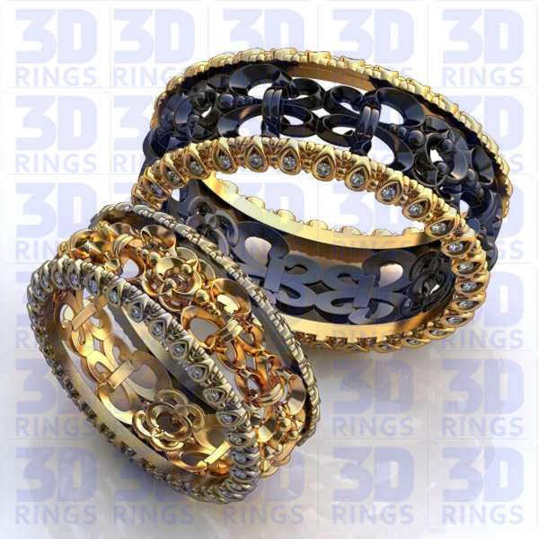 Обручальные кольца 667