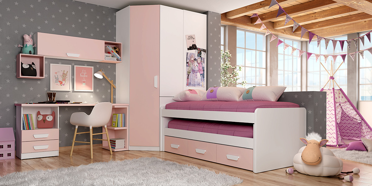 Compacto con2 camas