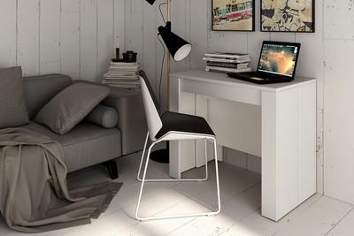 Mesa Consola extensible 4 en 1 ,En color Blanco , Fíjate en el Grosor es de 22 milimentros !!