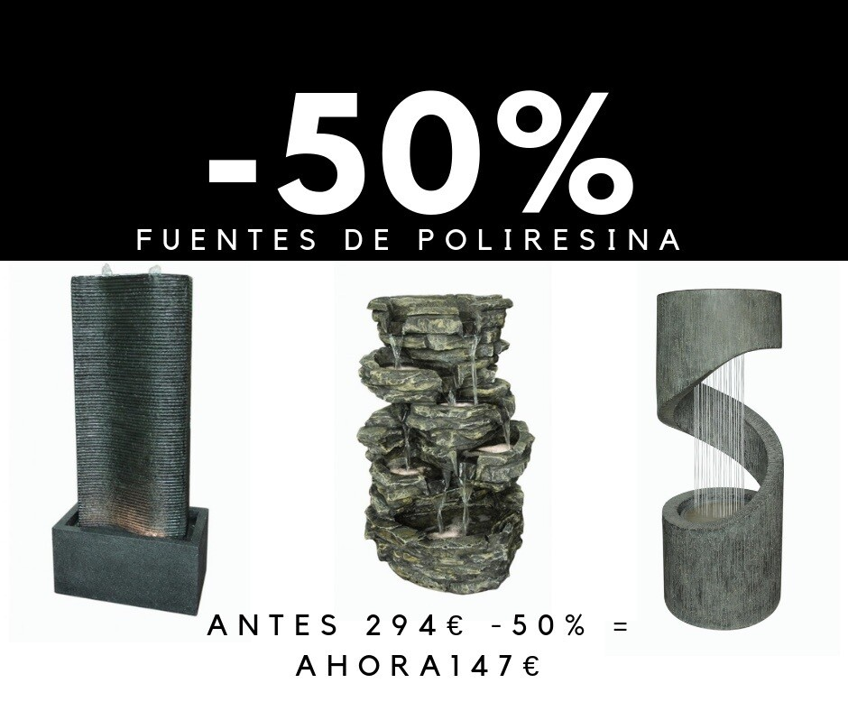 FUENTES AL 50% , PASAR X LA TIENDA !!!