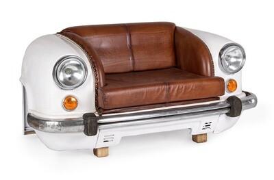 Coche Sofá Vintage Retro para los fanáticos de Audi, Bmw, Porsche, Mercedes, Etc.