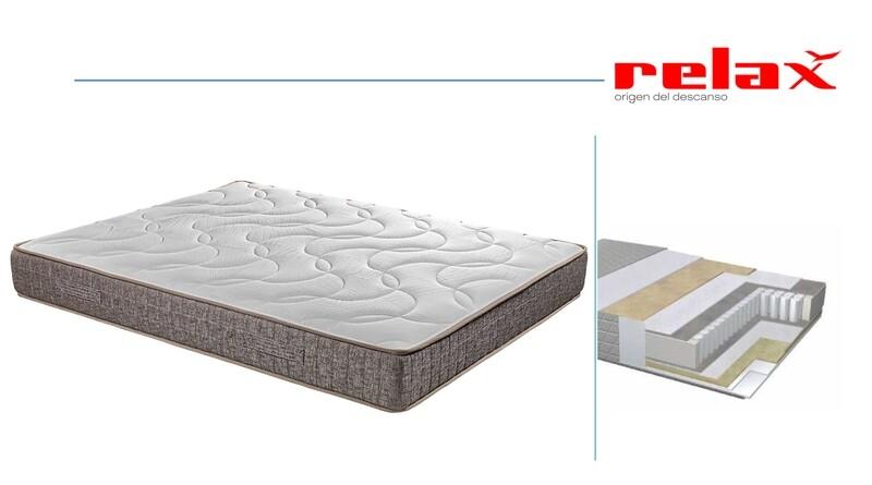 Colchón Muelles Ensacados + Visco  Relax®