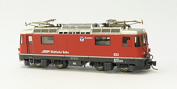 Rhätische Bahn Ge 4/4 II Lokomotive 615 bis 633 Bausatz.