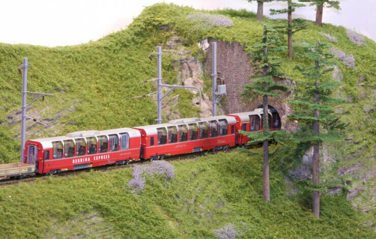 RhB Panoramawagen der Bernina-Express (Alte Ausführung bis 2006)