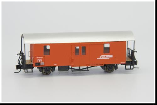 Rhätische Bahn Materialwagen Xk 9021 III Bausatz.