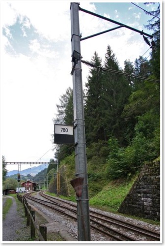 Signaltafeln, 1 Stück, Bausatz.  (Sommerfeldt kompatibel)