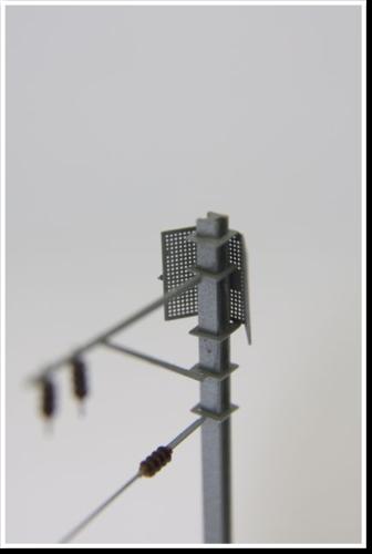 Schutzgitter, zur Montage am H-Maste, 2 Stück, Bausatz. (Sommerfeldt kompatibel)