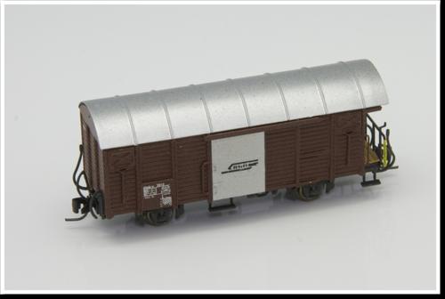 Rhätische Bahn Güterwagen Gbk-v 5512 / 5538 Bausatz.
