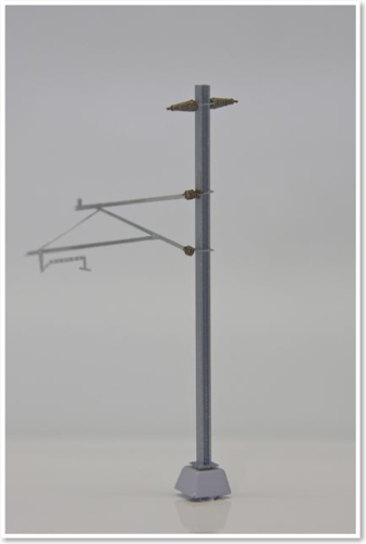 langer Ausleger mit Halteseil / Rohrausleger, 2 Stück, Bausatz. (Sommerfeldt kompatibel)