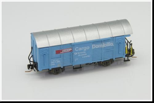 Rhätische Bahn Güterwagen Gbk-v 5510/5513/5517 (Cargo Domicilio beschriftung) Bausatz.