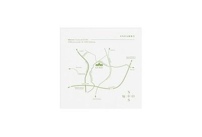Anfahrtsplan-Karte