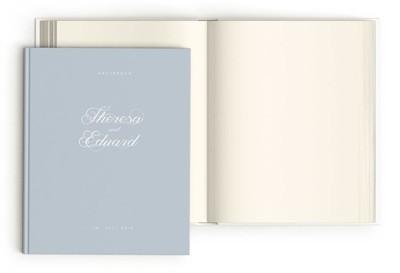 "Gästebuch ""Baby Blue"""