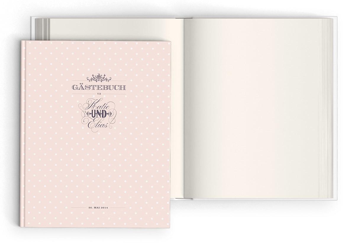 "Gästebuch ""Polka Dots"""