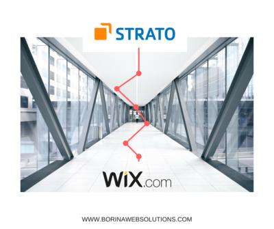 Wix mit Stratodomain verbinden