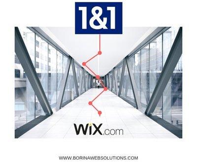 Wix mit 1und1 Domain verbinden