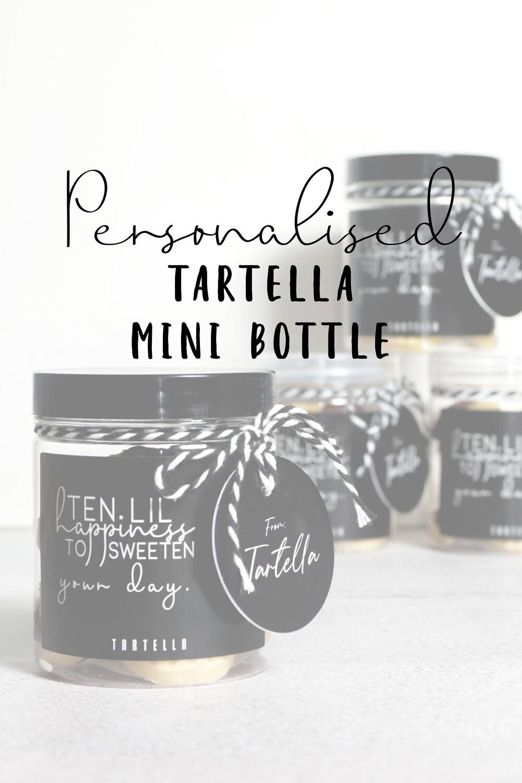 Tartella Mini Bottle -Personalised-